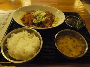 【茨城県北茨城市】 よっこらしょ 「ロースからし焼き定食」