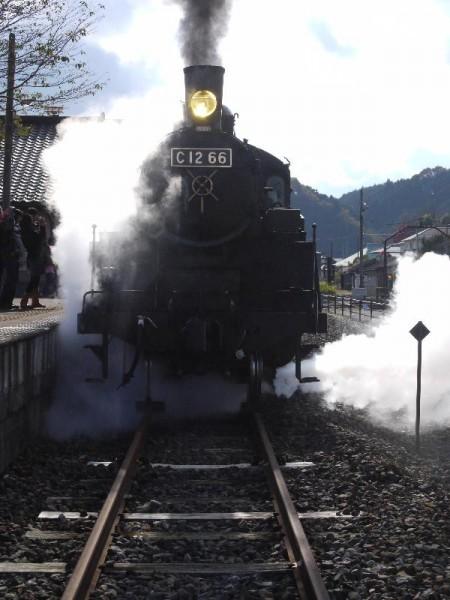 「真岡鐵道 蒸気に包まれるSL」 (G1 M.ZUIKO DIGITAL 14-42mm F3.5-5.6)
