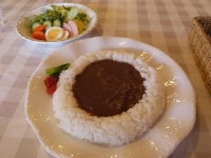 【栃木県茂木町】 まんなカフェ 「カレー&サラダ」