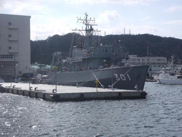 「横須賀軍港めぐり 海上自衛隊 掃海艇」 (G1 M.ZUIKO DIGITAL 14-42mm F3.5-5.6)