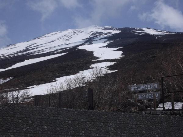 「富士山新五合目(標高2400メートル)」
