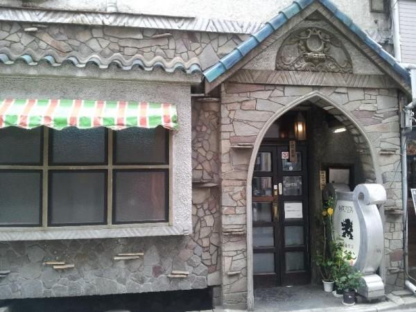 【渋谷】 名曲喫茶ライオン 店構え