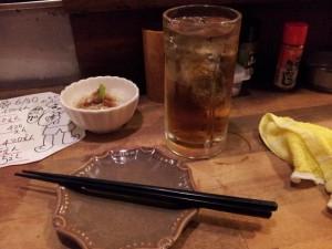 【新宿西口思い出横丁】 志の笛にて