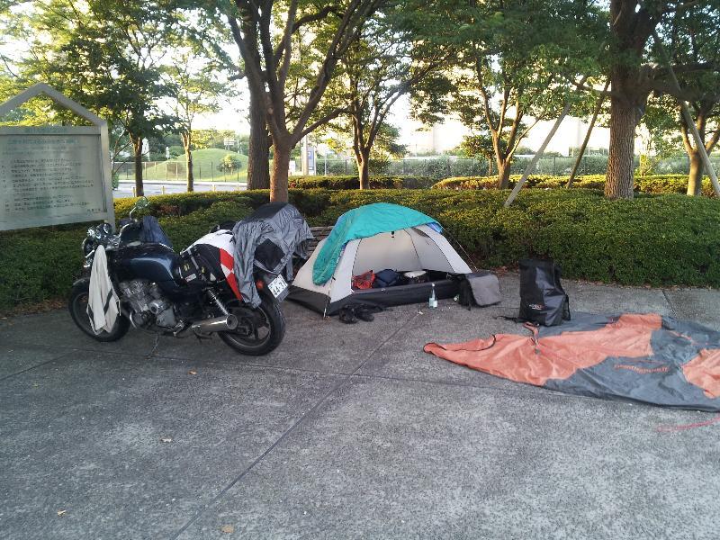 瀬戸大橋記念公園にて