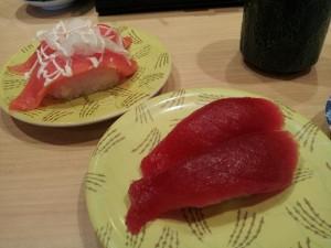 【茨城県大洗町】 回転寿司 安い皿ばかり取る