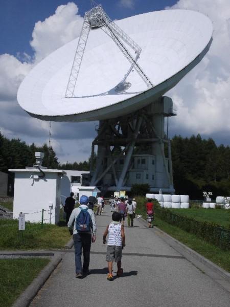 「長野県野辺山天文台 45m電波望遠鏡」