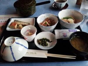 秋田のビジネスホテルのネバネバ系朝食