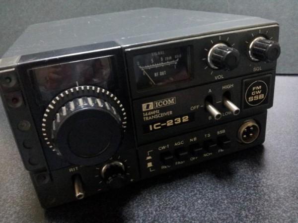 アマチュア無線機 IC-232