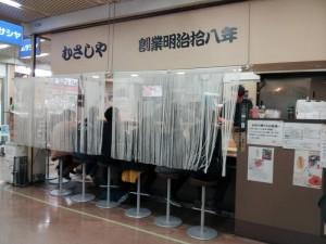 【東京都港区】 ニュー新橋ビル むさしや 店構え