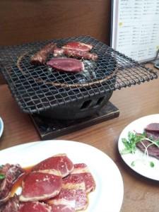 【神奈川県横浜市石川町】 ひょうたん 「カウンター席で焼き肉」