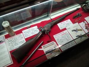 新撰組記念館 スペンサー銃