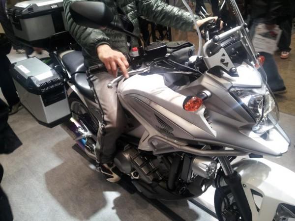 【東京モーターショー】 NC700X