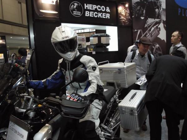 【東京モーターショー】 「ヘプコ&ベッカー」ブース