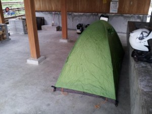 【福島県喜多方市】 中山森林公園 もりっこの里キャンプ場にて