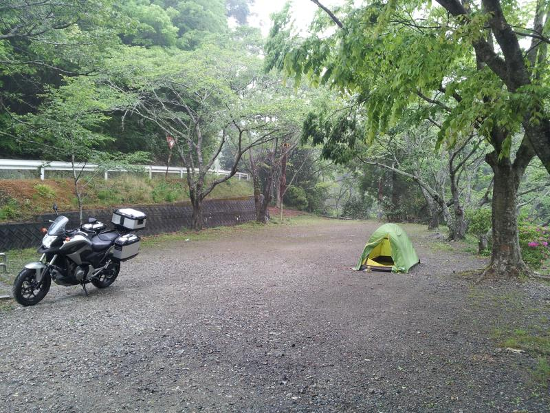 「浜松市滝沢キャンプ場」