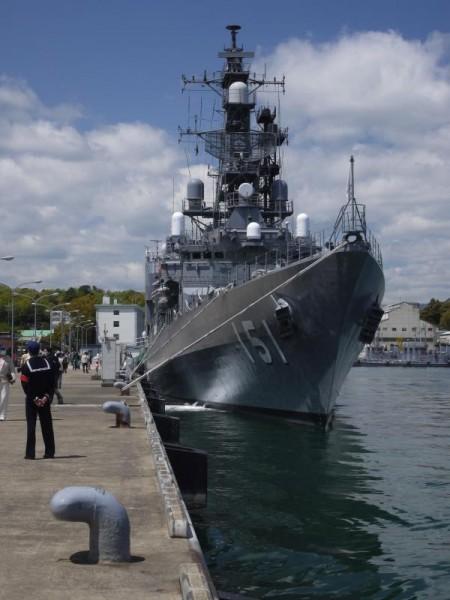 海上自衛隊舞鶴基地 護衛艦あさぎり