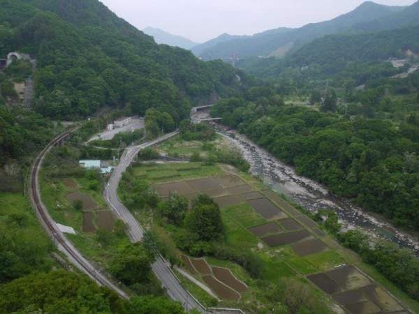 八ッ場ダム建設予定地