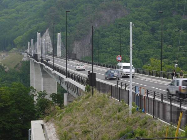 八ッ場ダム湖面1号橋