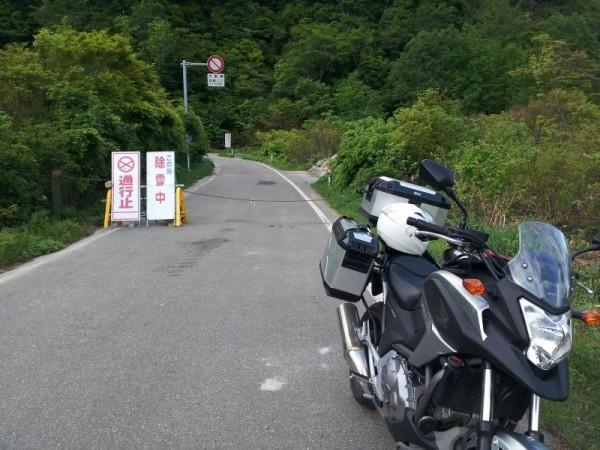 国道352号は枝折峠が通行止め