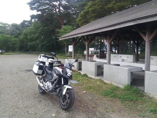 舟津浜キャンプ場 炊事場