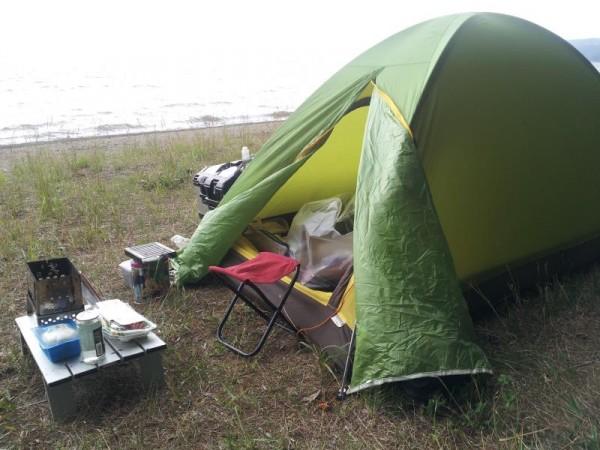 舟津浜キャンプ場 猪苗代湖湖畔
