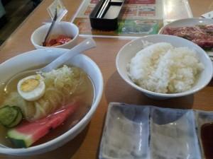 【岩手県北上市】 焼肉・冷麺ヤマト 「人気盛りB(ミニ冷麺セット)」