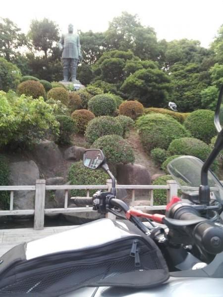 鹿児島市内の西郷隆盛像