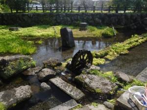 竹田は阿蘇山からの湧き水が豊かな場所