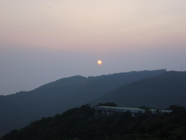 都井岬の夕日