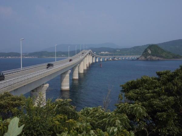 角島からの角島大橋