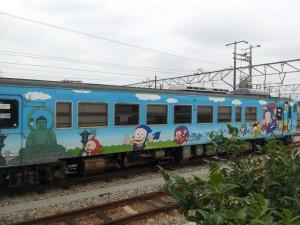 氷見線 「忍者ハットリくん列車」