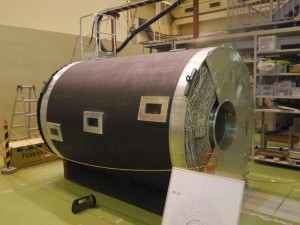 BELLE検出器のセンサ部分