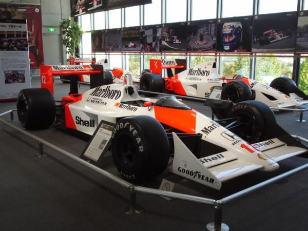 マクラーレン・ホンダ時代のF1マシン実車