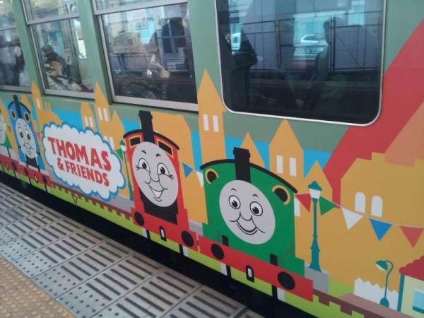 京阪電車「大津線のきかんしゃトーマス列車」
