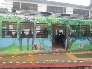 叡山電鉄「これまたラッピング電車」