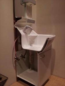 名古屋市科学館 洗面台のカットモデル