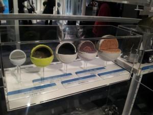 名古屋市科学館 各種ボールのカットモデル