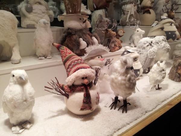 マンチェスター クリスマスマーケット 「雪だるまの人形」