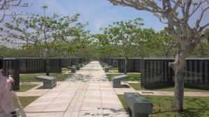 平和記念公園 平和の礎