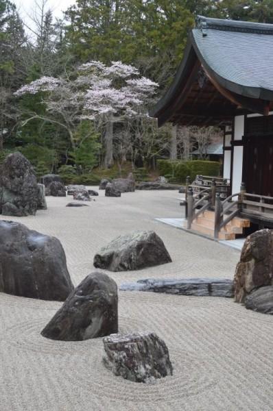高野山金剛峯寺の日本庭園