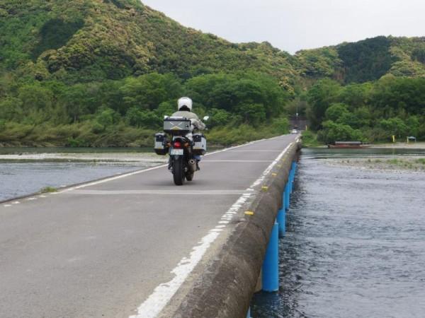 佐田沈下橋 行き