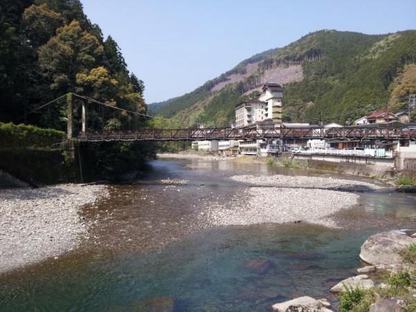 【和歌山県田辺市】 川湯温泉 大塔川