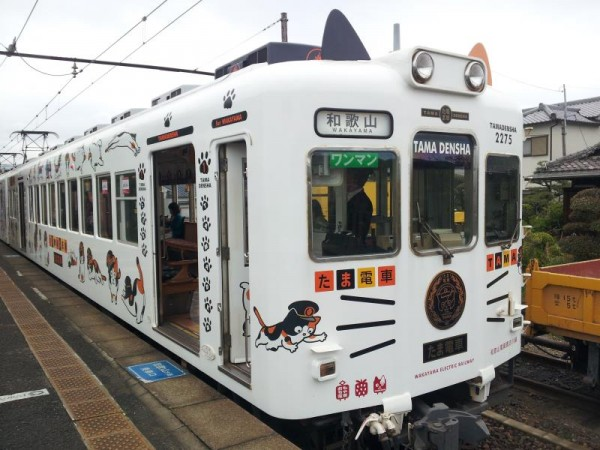 和歌山電鐵貴志川線 たま電車正面