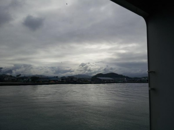 徳島港入港中