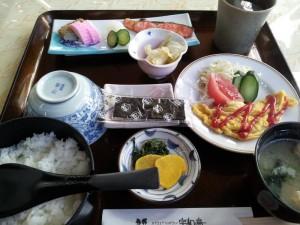 【愛媛県宇和島市】 真珠会館 「朝食セット」