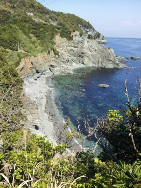 佐田岬の海