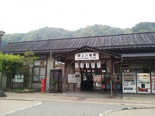 長良川鉄道越美南線 郡上八幡駅