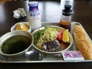 【千葉県和田町】 道の駅 和田浦 くじら竜田揚げ給食