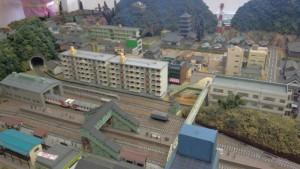釜石駅の名物ジオラマ