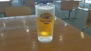 青森フェリーターミナル ビール
